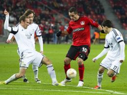Baldiger Abschied aus Leverkusen? Renato Augusto (Mi.) zieht's nach Brasilien.