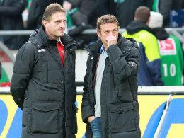 Jürgen Rollmann (l.) und Markus Weinzierl