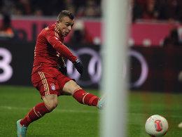 Shaqiri wurde eingewechselt und besorgte den 1:1-Ausgleich für den FC Bayern.