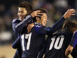 Ogihara (li.) und Kiyotake