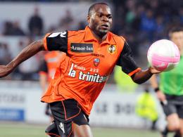 Schneller Angreifer: Innocent Emeghara vom französischen Erstligisten FC Lorient.