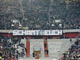 Leerer Ultras-Block in Düsseldorf