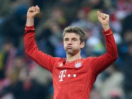 Vorzeitiges Weihnachtsgeschenk für Müller
