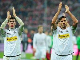 Ein Tag, zwei Vertragsverlängerungen: Nach Harald Nordtveit hat auch Martin Stranzl (re.) bei der Borussia unterschrieben.