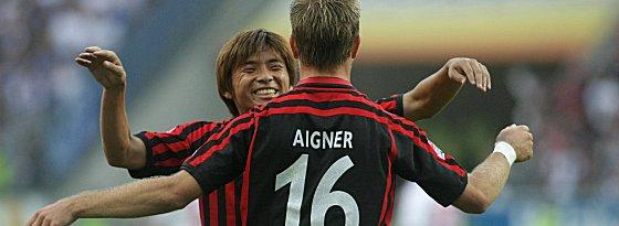 Takashi Inui und Stefan Aigner
