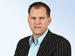 kicker-Redakteur Frank Linkesch