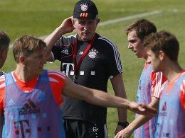 FCB-Trainer Jupp Heynckes