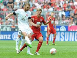 Jan Kirchhoff gegen Toni Kroos