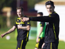 Beförderung: U-23-Spieler Koray Günter rückt näher an die Profis heran.