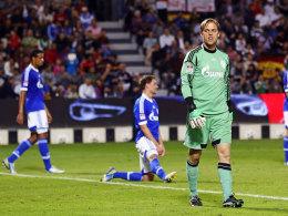 Timo Hildebrand beim 0:5 gegen die Bayern