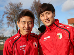 Ja-Cheol Koo (l.) und Dong-Won Ji