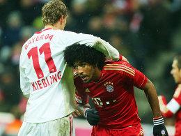 Auf ein Neues: Das Topspiel zwischen Spitzenreiter Bayern München und Leverkusen steigt am 26. Spieltag, Samstagabend 18.30 Uhr. Im Hinspiel siegte die Werkself 2:1.