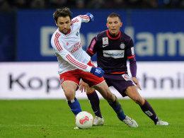 Zentrale Figur im HSV-Spiel: Milan Badelj.