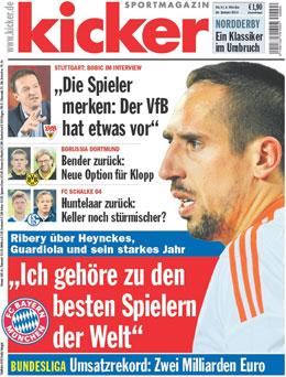 """Ribery im kicker-Interview: """"Ich gehöre zu den besten Spielern der Welt."""""""