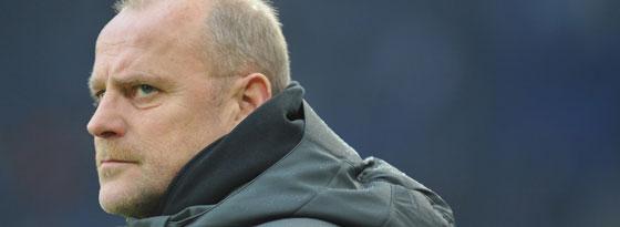 Bremens Coach Thomas Schaaf