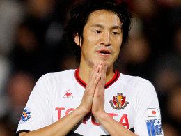 Neuer Mann für den Club: Mu Kanazaki.