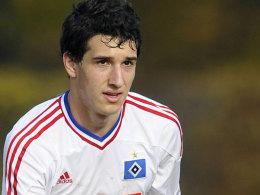Trägt die HSV-Raute nicht mehr lange: Levin Öztunali hat sich für Leverkusen entschieden.