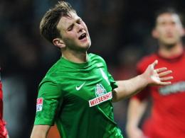 Knieschaden: Werders Niclas Füllkrug wurde wegen einer Knorpelverletzung operiert.