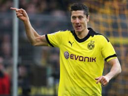 Geht's da nach München? Dortmunds Robert Lewandowski soll sich mit dem FC Bayern bereits einig sein.