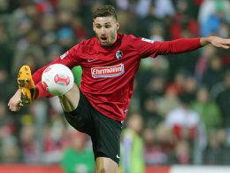 Der Freiburger Daniel Caligiuri fällt gegen Düsseldorf sehr wahrscheinlich aus.