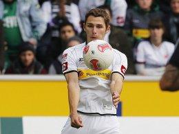 Eine Sprunggelenksverletzung setzt ihn außer Gefecht: Branimir Hrgota.