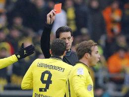 Robert Lewandowski fehlt den Dortmundern drei Spiele.