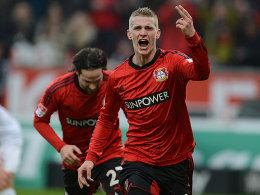 Sorgte für die Vorentscheidung in Leverkusen: Lars Bender.