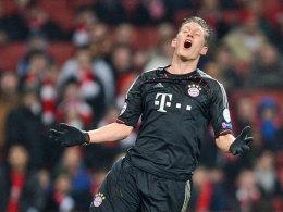 Bastian Schweinsteiger beim FC Arsenal zwischen Frust und Ekstase.