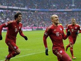 Martinez, Robben und Shaqiri