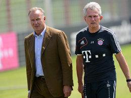Karl-Heinz Rummenigge und Jupp Heynckes