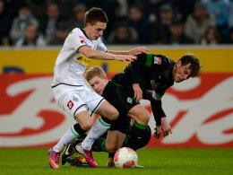 Ein Spiel mit Folgen für Bremens Clemens Fritz, der mehrere Brüche erlitt.