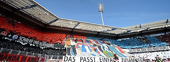 Nürnberg gegen Schalke