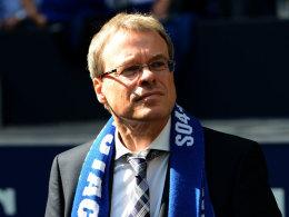 Schalke-Finanzvorstand Peter Peters