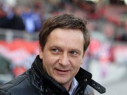 Schalke-Sportvorstand Horst Heldt am Samstag in Nürnberg