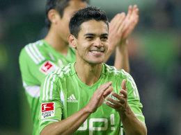 Josué hatte beste Zeiten in Wolfsburg erlebt - nun geht der Meisterkapitän von 2009 zurück nach Brasilien.