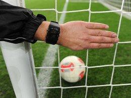 Drin oder nicht drin? Die Bundesliga-Schiedsrichter erhalten zur Klärung dieser Frage nicht vor 2015 technische Unterstützung.