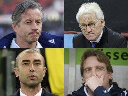 Im Kandidatenkreis: Diese vier Trainer könnten auf Schalke eine Perspektive haben.