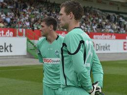 Hesl (li.) und Grün