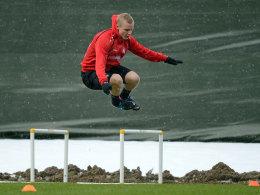 Sebastian Rode im Eintracht-Training