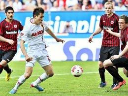 Zwei Treffer, der dritte wurde zu Unrecht aberkannt: Dong-Won Ji war Spieler des Spiels gegen Frankfurt.