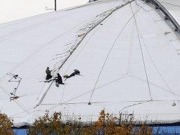 Dachschaden: Die Reparaturen an der Arena kosteten Schalke Millionen.