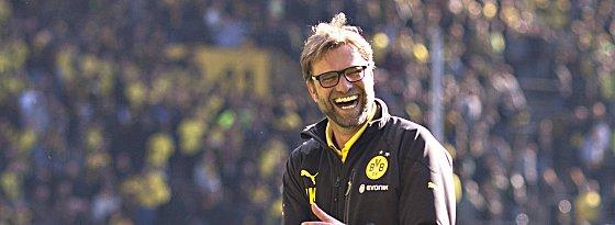 Zufrieden mit der Leistung seiner Mannschaft: BVB-Coach Jürgen Klopp.
