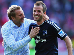 Fink und Kapitän van der Vaart
