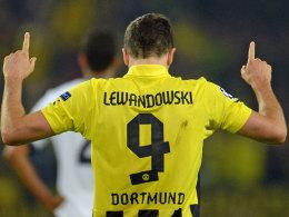 Kein Angebot aus München: Robert Lewandowski von Borussia Dortmund.
