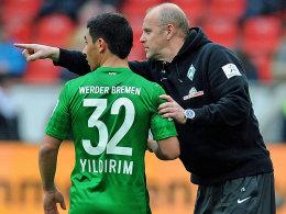 Özkan Yildirim und Thomas Schaaf