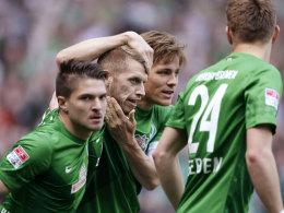 Bremens Hunt brachte Werder früh in Führung, doch zum Sieg reichte es gegen Hoffenheim nicht.