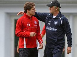 Armin Veh und Pirmin Schwegler