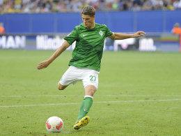 Traf gleich sechs Mal für Werder: Nachwuchsspieler Johannes Wurtz.