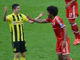 Robert Lewandowski wird auch im nächsten Jahr wieder gegen Bayerns Dante spielen und nicht mit ihm.