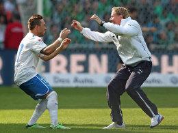 Hoffenheims Tobias Weis dürfte seinem Coach Markus Gisdol zukünftig weniger freudig um den Hals fallen.
